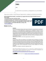 ¿Estudios Organizacionales en Chile? Entre la parcelación, la ambigüedad y las racionalidades en disputa