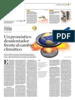 Un Pronóstico Desalentador Frente Al Cambio Climático