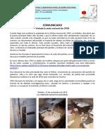 Violacion de La Sede de CPDS. PDF