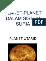 Planet-planet Dalam Sistem Suria