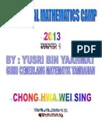 ADDITIONAL MATHEMATICS CAMP 2013.pdf