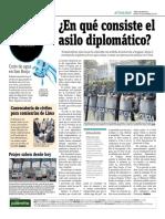 En Que Consiste El Asilo Diplomático