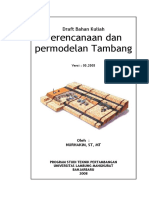 modul perencanaan permodelan tambang.pdf