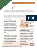 ZBurn Technical Fact Sheet