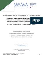 2015 WSAVA Vaccination Guidelines Spanish
