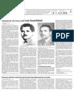 Diario Granma. 20 noviembre de 2018. p.2
