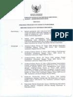 Kepmenkes 296-2008 Pengobatan Dasar Puskesmas