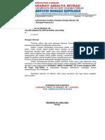 Surat Pelaporan Kerja Tim