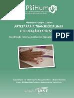 Mestrado Europeu Online ARTETARAPIA TRANSDISCIPLINAR  E EDUCAÇÃO EXPRESSIVA -  Acreditação Internacional como Educador(a) Expressivo(a)