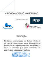 Hipogonadismo Masculino Dr Renato Torrini