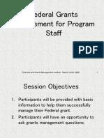 Financial Management for Program Staff
