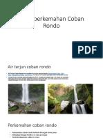 Bumi Perkemahan Coban Rondo