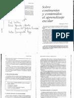 23595057 Margarita Poggi Sobre Continentes y Contenidos El Aprendizaje Escolar en Apuntes y Aportes Para La Gestion Curricular