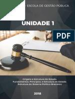 Apostila - Noções de Gestão Pública - 1ª Unidade