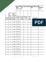 ERT Test Format for Soil-rock