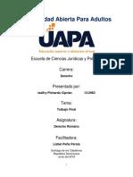 Derecho Romano I - Trabajo Final.docx