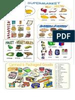 vocabulario en ingles Supermarket
