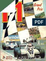 Album Panini F1 Grand Prix 1980