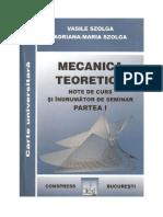 Mecanica I - Szolga V.
