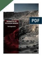 Seguridad Minera - Reglamento título xv y guías.pdf