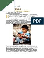 La Pobreza en Puno