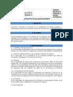 Anexo 43. Instructivo de Evaluación Docente INS-DO 012 VF