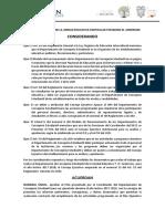 ACTA DE APROBACION DEL POA