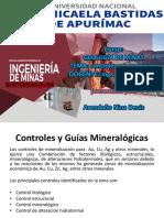 Geologia de Minas Control Mineralogicos