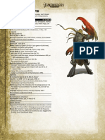 3.5 to Pathfinder conversion - Piscoloth - Yugoloth