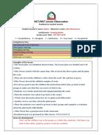 observation feedback-nawar-1st visit-29th