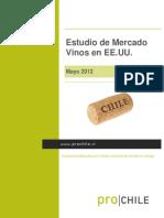 Estudio de Mercado Vinos en EEUU Mayo 2012