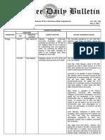 Congress Bulletin -Hearing on COTELCO-PPALMA Franchise