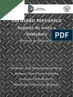 Formado Mecánico - Reporte de Visita a Dobladora
