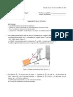 Física 1 - Ejercicios propuestos de energía y trabajo.