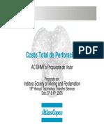 Costo Total de Perforacion