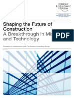 World Economic forum (2016) Shaping the future of construction, a breakthrough in mind-set and technology, Industry Agenda, WEF, May 2016.pdf