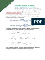Trabajo de Química Orgánica