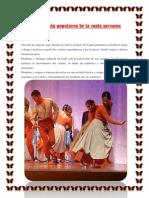 Danzas Más Populares de La Costa Peruana