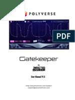 Gatekeeper Manual