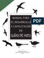 Bird Guide Manual Es