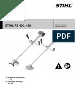 Manual Guadaña Sthill Fs-400-450