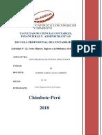 COSTOS III UNIDAD Revision de Informe de Tesis