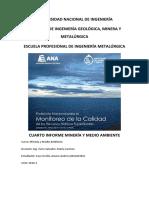 Cuarto Informe Minería y Medio Ambiente