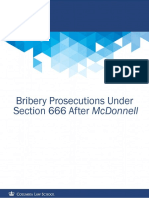 Bribery Prosecutions Under Section 666 After McDonnell