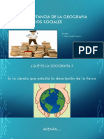 La importancia de enseñar geografía en estudios sociales