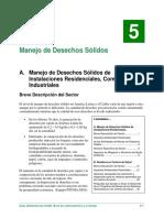 Guía Ambiental LAC, Cap 5 - Manejo de Desechos Sólidos y de Centros de Salud