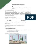 Cuestionario de Ecologia