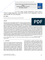 Thermodynamic Analysis of Two Stages Cascade Refrigeration System Using R-1234ze in High Temperature Circuit and r1234yf in Low Temperature