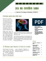 Consejos Para Un Cerebro Sano