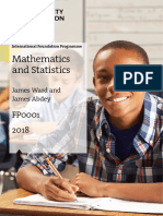 Maths.and.Stats 2018
